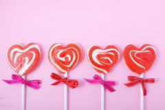 Happy Valentines Day Candy Stock Images