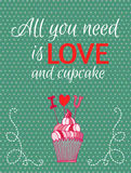 Happy Valentines day card. Royalty Free Stock Image