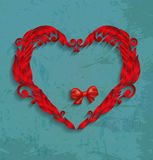 Happy Valentines Day Card Design. Royalty Free Stock Photography