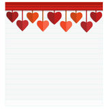Happy Valentines Day Card with Heart. Vector Illustration - Illustration Royalty Free Stock Photography