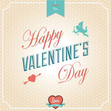 Happy Valentines Day Card Royalty Free Stock Images