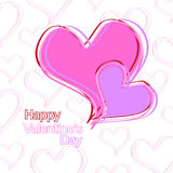 Happy valentines day. Card use any size Royalty Free Stock Photography