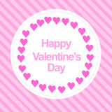 Happy valentines day. Card use any size Royalty Free Stock Images