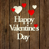Happy Valentines day card vector background Royalty Free Stock Image
