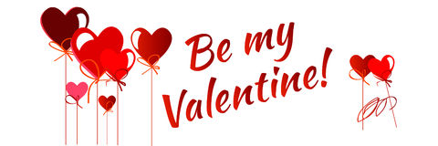Happy valentines day card.vector.flyer background. Stock Photography