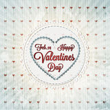 Happy Valentines Day Cards Stock Photo