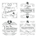 Happy Valentines Day Cards Royalty Free Stock Images