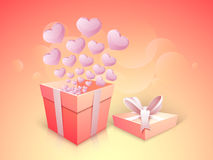 Happy Valentines Day celebration concept. Royalty Free Stock Photos