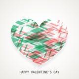 Happy Valentines Day celebration greeting card. Stock Photo