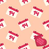 Happy Valentines day collection background Royalty Free Stock Photos