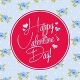 Happy valentines day design Stock Image