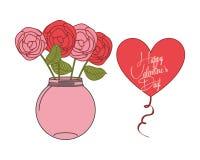 Happy valentines day design Stock Photos