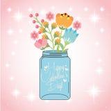 Happy valentines day design Stock Images