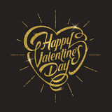 Happy valentines day - greeting card stock illustration