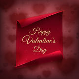 Happy Valentines day, greeting card. Royalty Free Stock Photos