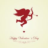 Happy Valentines day - greeting card Stock Image