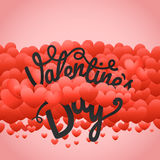 Happy valentines day greeting card Stock Photo