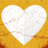 Happy Valentines Day grunge texture Royalty Free Stock Images