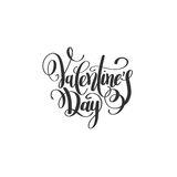 Happy valentines day handwritten lettering holiday design to gre Royalty Free Stock Images