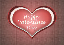 A happy valentines day heart love Stock Photo