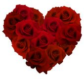Happy Valentines Day.  Highly realistic illustration. Royalty Free Stock Photography