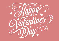 Happy valentines day -  illustration Stock Photography