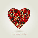 Happy valentines day. Love greeting card  Stock Photo