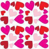 Happy valentines day heart background Stock Photography