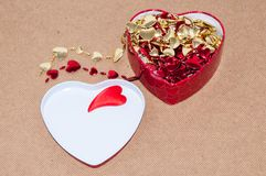Happy Valentines Day. Love and happiness... Stock Photography