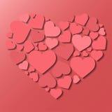 Happy Valentines Day. Love poster Stock Photos