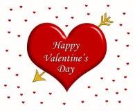 Happy Valentine's Day Royalty Free Stock Photography