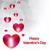 Happy valentines day new backgrond Stock Images