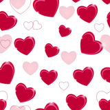 Happy Valentines Day seamless pattern background Royalty Free Stock Images