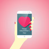 Happy Valentines Day vector illustration
