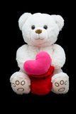 Happy Valentines Day. Soft toy Stock Image