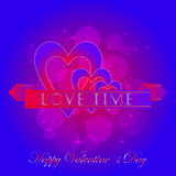 Happy Valentines Day Stickers Stock Photo