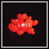 Happy Valentines Day Stickers Royalty Free Stock Photos