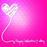Happy Valentines Day. Typographic Lettering Stock Photos