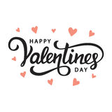 Happy Valentines Day royalty free illustration