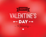 Happy Valentines day typography. Vector design. Happy Valentines day typography. Vector text design. Usable for banners, greeting cards, gifts etc. 14 february Stock Images