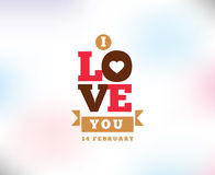 Happy Valentines day typography. Vector design. Happy Valentines day typography. Vector text design. Usable for banners, greeting cards, gifts etc. 14 february Vector Illustration