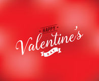 Happy Valentines day typography. Vector design. Happy Valentines day typography. Vector text design. Usable for banners, greeting cards, gifts etc. 14 february Royalty Free Stock Images