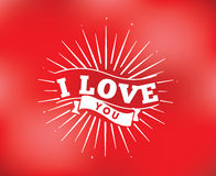 Happy Valentines day typography. Vector design. Happy Valentines day typography. Vector text design. Usable for banners, greeting cards, gifts etc. 14 february Royalty Free Stock Photos