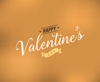 Happy Valentines day typography. Vector design. Happy Valentines day typography. Vector text design. Usable for banners, greeting cards, gifts etc. 14 february Stock Photo