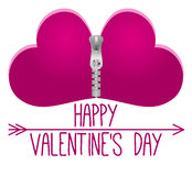 Happy Valentines Day vector Royalty Free Stock Photo