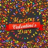 Happy Valentines Day. Vector Stock Photo
