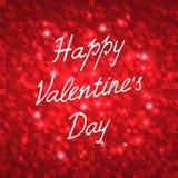 Happy Valentines Day Vector Illustration Royalty Free Stock Photo