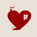Happy valentines day and wedding design elements. Royalty Free Stock Images
