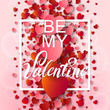 Happy valentines day and weeding background Royalty Free Stock Photo