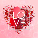 Happy valentines day and weeding background Royalty Free Stock Photos